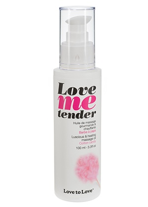 massage Huile de massage Love Me Tender